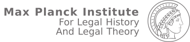 Max Planck Institute For Legal History and Legal Theory Logo